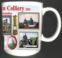HATFIELD MAIN COLLIERY COAL MINE MUG. LIMITED EDITION GIFT MINERS YORKSHIRE PIT