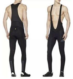 Adidas Climawarm Padded Pants Bib Cycling Tights Men's Size XL Msrp$180 NEW