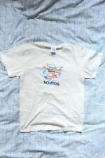 NEW White EQUINOCCIO Map of Ecuador T-Shirt 100% Cotton - Hand Printed