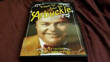 "The Forgotten Films of Roscoe ""Fatty"" Arbuckle (DVD, 2005, 4-Discs) Like new!"