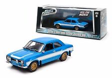 Greenlight 1974 Ford Escort MK1 RS2000 Fast & Furious 1:43 Scale Diecast Model