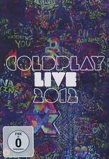 COLDPLAY - LIVE 2012  DVD + CD POP INTERNATIONAL NEU