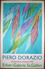 Piero Dorazio affiche lithographie art abstrait abstraction Art Erker
