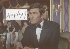 GEORGE LAZENBY Signed 12x8 Photo Display ON HER MAJESTY'S SECRET SERVICE COA