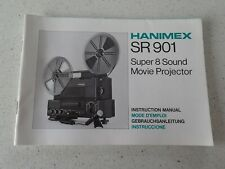 Hanimex SR901 Super 8 Sound Movie Projector Manual