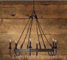 Deckenlampen & Kronleuchter im Industriellen aus Eisen fürs Esszimmer