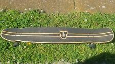 Gravity Vintage Skateboard Surf Long Skate Board Longboard Complete 46 in. Carve