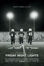 FRIDAY NIGHT LIGHTS MOVIE POSTER 2 Sided ORIGINAL VF 27x40 BILLY BOB THORNTON
