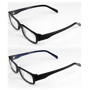 Trendy Near Sight Glasses Black Plastic Eyewear Quality -0.50 -0.75 -1.00 -1.25~