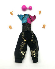 Monster High Doll Clothes Jumpsuit with Accessories Lot Gigi Grant Genie Outfit