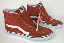 Vans Footwear SK8 Hi Autumn Glaze/True White Men's Classic Skate Shoes Size 9