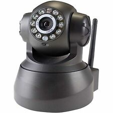 NVSIP WIRELESS SECURITY IP CCTV CAMERA WIFI INTERNET 720P NIGHT VISION