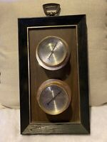 Vintage Springfield Instrument Company Thermometer and Humidity Weather Station