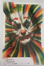 "Joker Put On A Happy Face - Joaquin Phoenix Cinema Promo Poster - 11.5"" x 7.5"""
