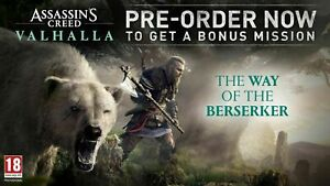 Assassin's Creed Valhalla - The Way of the Berserker PS4 XBOX ONE PC DLC