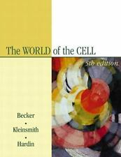 The World of the Cell with Free Solutions by Jeff Hardin et al. (5th ed) Hardcov