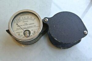Weston  model 627 lightmeter, Weston Elect. Inst. USA, 1933 - not working, rare