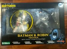 Kotobukiya DC Comics Batman & Robin Jim Lee ArtFX+ Two-Pack Statue Set NEW