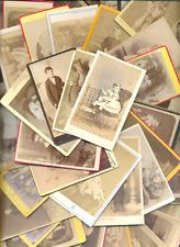 Lot de 38 CDV Enfants, Mode enfantine, Vintage prints 1870-1900