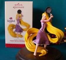 "Hallmark Ornament 2013 Fierce with a Frying Pan - Disney Tangled Rapunzel ""NEW"""