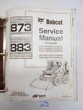 Bobcat 873 883 Turbo High Flow Loader Service Manual