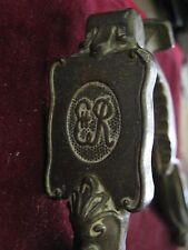 "England 5 1/2"" Brass Nutcracker w/ ER II Cypher, 1953 Elizabeth Coronation Item?"