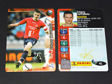 GREGORY TAFFOREAU LILLE LOSC GRIMONPREZ DOGUES PANINI FOOTBALL CARD 2006-2007