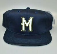 Milwaukee Brewers MLB Vintage 90's Outdoor Cap Adjustable Snapback Cap Hat - NWT