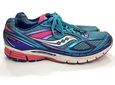 Saucony Guide 7 Blue Pink Running Shoes Women Size 8.5 SH1