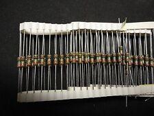 100pcs 1meg 12watt 2 Carbon Film Resistor