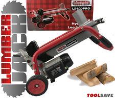 Lumberjack Heavy Duty Hydraulic Log Splitter Timber Cutter Ton Wood Electric 240