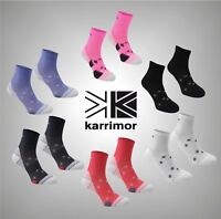 2 Pack Ladies Karrimor Sports Moisture Wicking Running Socks Size 4-8