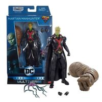Dc Martian Manhunter Action Figure Mattel