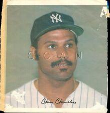 Original 1978 New York Yankees Large Baseball Player Lithograph- Chris Chambliss