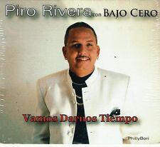 Piro Rivera con Bajo Cero Vamos a Darnos Tiempo    BRAND NEW SEALED  CD