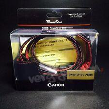 Canon CSC-G6BK Genuine Leather Soft Case Jacket Strap for PowerShot G5X Original