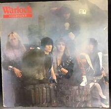 WARLOCK Hellbound 1985 LP Album Record Vinyl GERMANY VERTIGO 824 660-1 Rare LP
