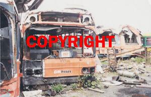 Bus Photo - GM Buses 132 JNA588N Leyland National scrap ex GMPTE