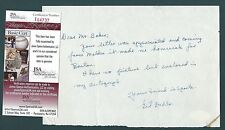 Gil Dodds signed note JSA Authenticated American Distance Runner