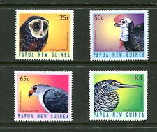 Papua New Guinea  #933-6  birds owls    1998 4v. MNH- D573