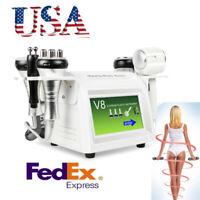 8in1 40K Cavitation Vacuum Multipolar RF BIO Body slim SPA Machine Weight Loss A