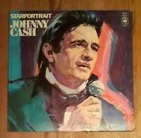 Johnny Cash – Starportrait 2× Vinyl LP Comp Gate 33rpm 1972 CBS – S 67201