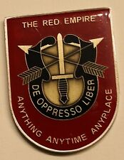 7th Special Forces Group Airborne 1st BN The Red Empire Army Challenge Coin