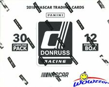 2018 Panini Donruss Nascar Racing MASSIVE Sealed JUMBO FAT Pack Box-360 Cards!