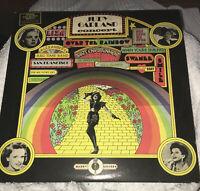Judy Garland Concert Over the Rainbow 2 LP 1974 Vinyl Special Collectors Editiom