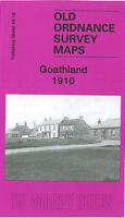 OLD ORDNANCE SURVEY MAP GOATHLAND 1910 ST MARYS CHURCH MALLYANN SPOUT