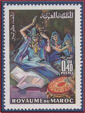 1970 MAROC N°601** Danse de la GUEDRA, 1970 MOROCCO Dance MNH
