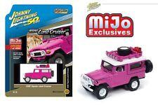 Johnny Lightning 1/64 1980 Toyota Land Cruiser Off Road 4x4 Hot Pink JLCP7208