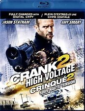 Crank 2: High Voltage  /2 BLU-RAY SET // NEW WITHOUT SHRINKWRAP // JASON STATHAM