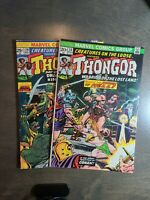 Creatures on the Loose 2 Book lot #28,29 Marvel Bronze Age